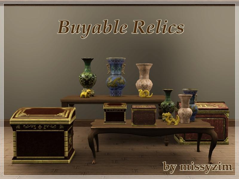 missyzim 39 s buyable relics