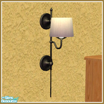 kittyispretty69 39 s townhouse home office wall light sconce