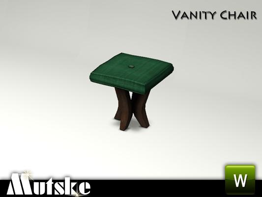 Mutske 39 s bedroom vanity chair - Bedroom vanity chair with back ...