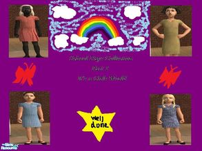 Sims 2 — School days collection 1 by melaniecox — a set of 4 school summer dresses from the United Kingdom