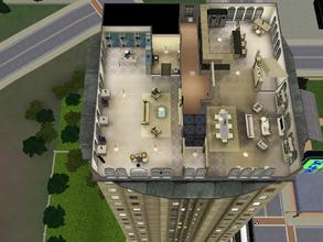 Sims 3 — Crescent Bay Pied a Terre Remodel by yourmommmms2 — This is an upgraded studio, featuring 2 bedrooms and 2