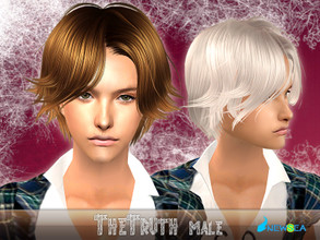 Sims 2 —  NewSea SIMS2 Hair J062m TheTruth by newsea — A short hairstyle in various colors