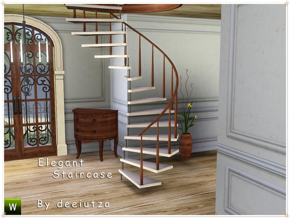 Deeiutza S Elegant Staircase