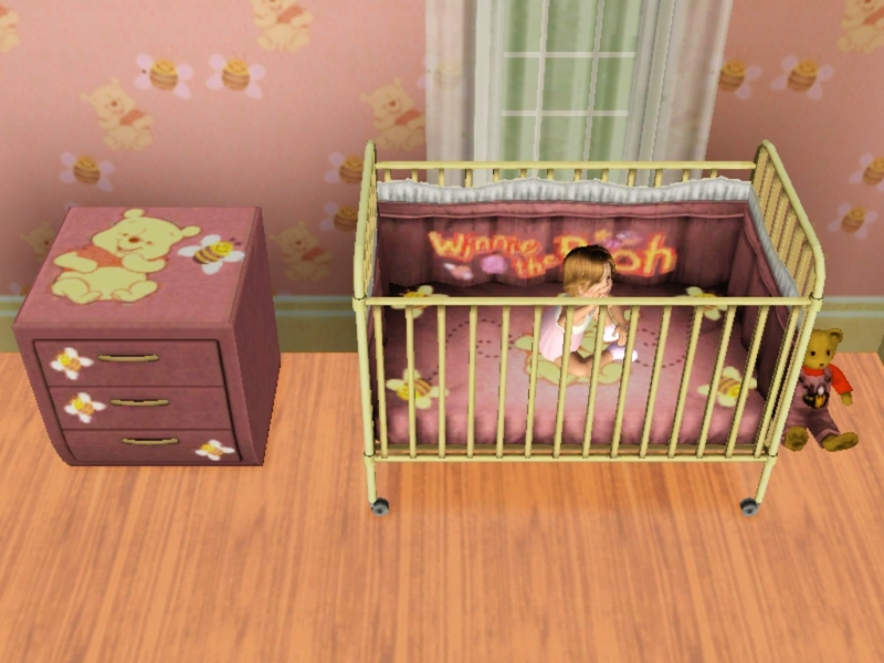 Tigerliyene 39 s winnie the pooh crib for baby or toddler - Cute winnie the pooh baby furniture collection ...