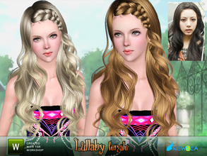 Sims 3 — Newsea Lullaby Female Hairstyle by newsea — This hairstyle is for female. Works for all ages. All morph states