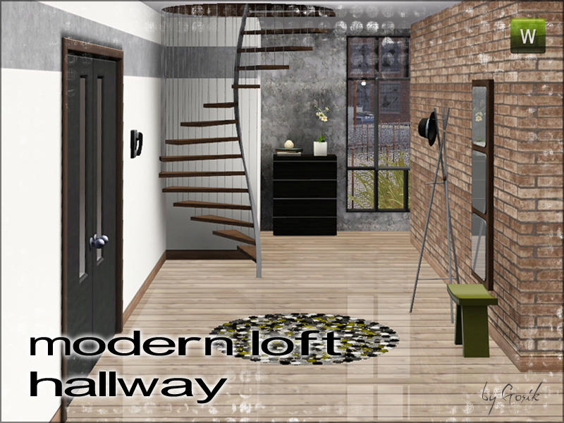 Gosik S Modern Loft Hallway