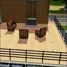Sims 3 — Natural Parquet by capshunica2 — Natural light parquet.