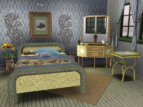 Wolfspryte 39 s country cottage bedroom collection tsraa for Country cottage collections