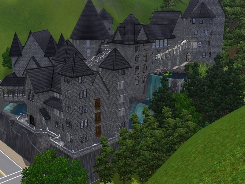 simstardeluxe1 s Hogwarts school of witchcraft and wizardry