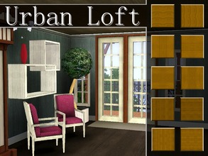 Sims 3 — Urban Loft Patterns by lilliebou — This set has 10 wood patterns. Each pattern has a vertical and horizontal