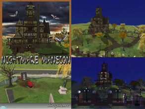 Sims 2 Lots - 'haunted house'
