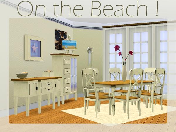 beach house dining room sets | lilliebou's On the Beach ! [Dining room]