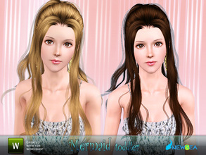 Sims 3 — Newsea Mermaid Female Hairstyle by newsea — This hairstyle is for female. Works for all ages. All morph states