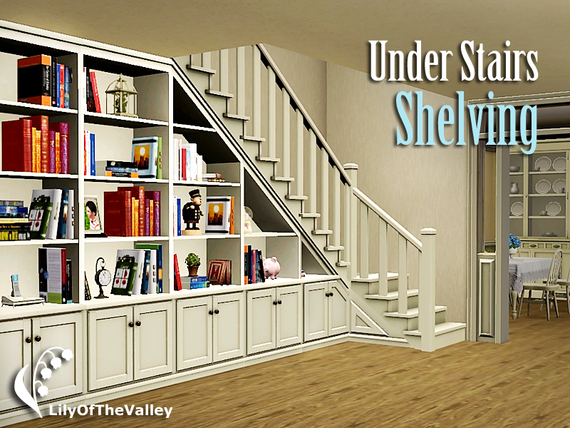 Attractive Under Stairs Shelving