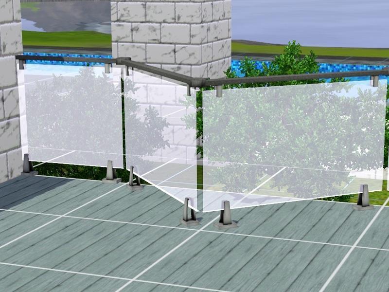 Manuke Glass Fence