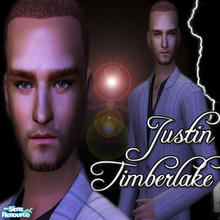 Sims 2 — Justin Timberlake by shortiesliketick — Justin Randall Timberlake is an American pop musician and actor. He has