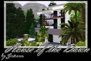 Sims 3 — House of the Dawn by Jindann — Nice living by Jindann