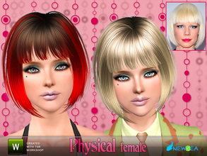 Sims 3 — Newsea Physical Female Hairstyle by newsea — This hairstyle is for female. Works for all ages. All morph states