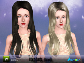 Sims 3 — Newsea Treasure Female Hairstyle by newsea — This hairstyle is for female. Works for all ages. All morph states