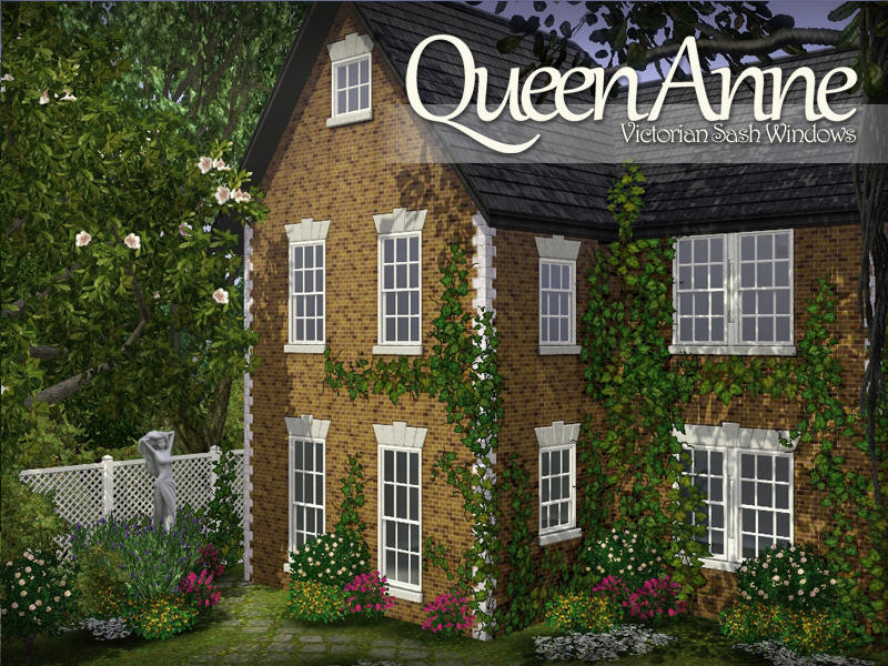 AppleFall's Queen Anne Sash Windows