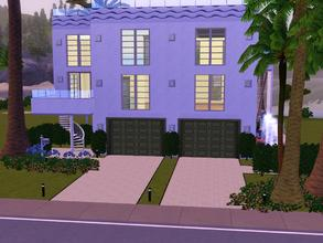 Sims 3 — 455 Sunnyside Blvd Un-Furnished by spitzmagic — 455 Sunnyside Blvd Un-Furnished garage apartment and CC free.