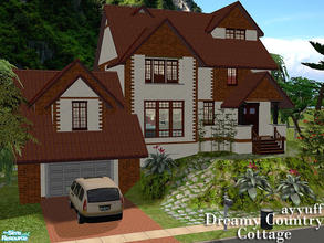 Sims 2 — Dreamy Country Cottage by ayyuff — 3x3 medium lot