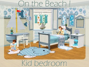 On The Beach Kids Bedroom