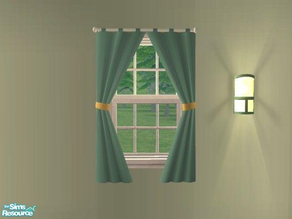 Modern Living Room   Curtains (Small Short)