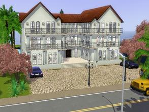 Sims 3 — Wonderful Roman Villa by -l-iris-l-2 — A huge villa with a beautiful swimingpool and 6 bathrooms, 6 bedrooms and