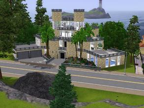 Sims 3 — Modern Castle by -l-iris-l-2 — Modern Castle. This is a home for your sims. They have here a wonderful live!