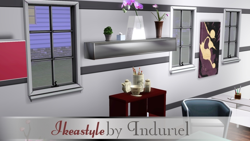 Besta Burs Wall Shelf Red : Become a VIP Member and enjoy a fast, adfree TSR + our Download