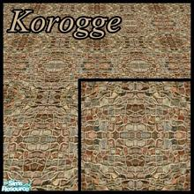 Sims 2 — Korogge by ricarpin762 — This strange looking floor can be used for input and roads to the homes of Sims.