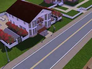 Sims 3 — The Mediterranean by Mayet514 by mayet514 — This Mediterranean town home has 2 bedrooms, 3 full baths, kitchen,