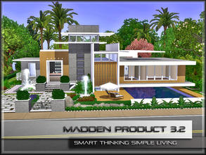 Sims 3 — MaddenProduct 3.2 by MaddenPro — MaddenPro 3.2 @ TSR Requires:World Adventures Exclusive High Stylish Modern