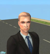 Sims 2 — Prince William by HeatherLG2004 — Princess Kate\'s new partner in life. I love newlyweds.