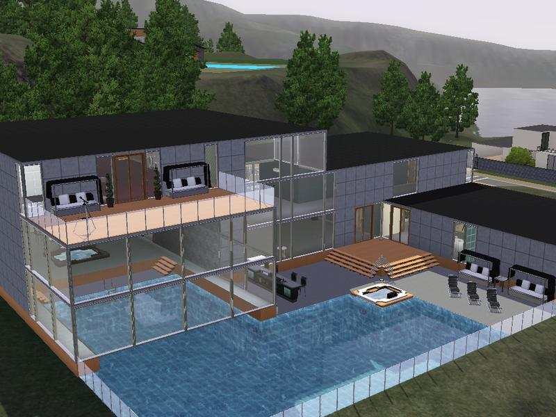The Sims 3 Modern Celebrity Mansion