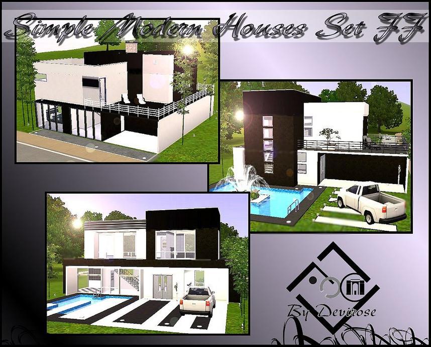 Devirose S Simple Modern Houses Ff Set