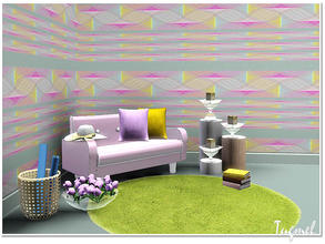 Sims 3 — Geometric Pattern Set-01b by TugmeL — by TugmeL