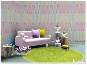 Sims 3 — Geometric Pattern Set-01d by TugmeL — by TugmeL
