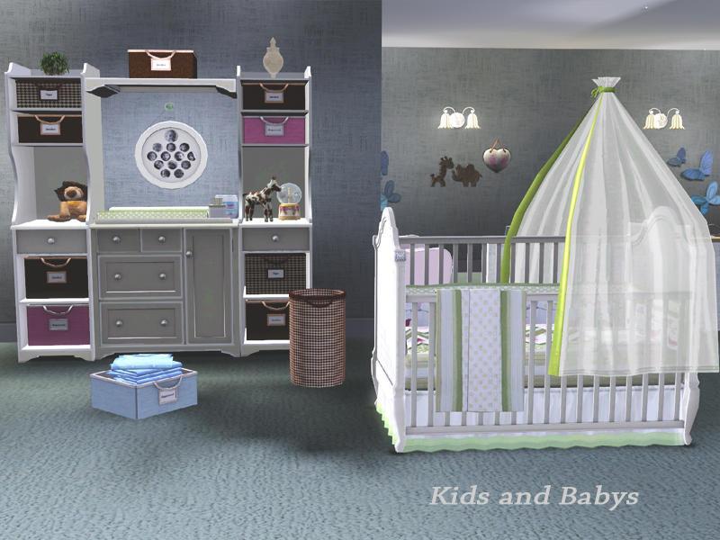 Shinokcr 39 s pb kids n babys for Sims 3 chambre bebe