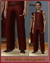 Sims 3 — Athletic Designers - Pants-Teen by terriecason — An athletic compilation for the sim who plays in style. Four