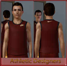 Sims 3 — Athletic Designers - Teen by terriecason — An athletic compilation for the sim who plays in style. Three