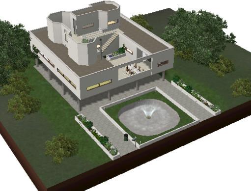 Rosstom S Villa Savoye Le Corbusier