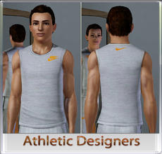Sims 3 — Athletic Designers by terriecason — An athletic compilation for the sim who plays in style. Three recolorable
