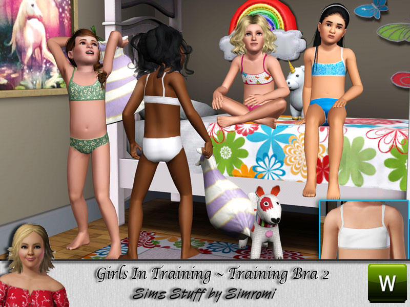 simromi's Girls in Training ~ Bra 3