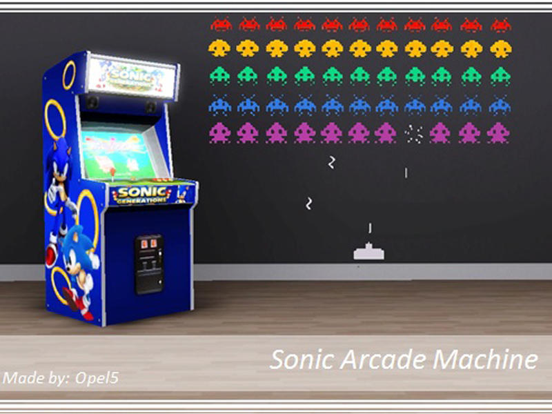 Opel5 S Sonic Arcade Machine