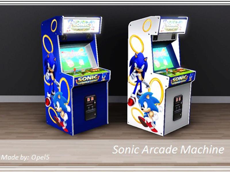 sonic arcade machine