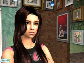 Sims 2 — Selena Gomez by HeatherLG2004 — American actress and singer Selina Gomez.