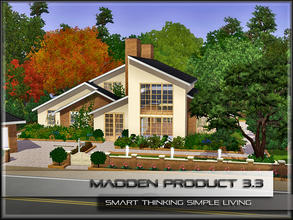 Sims 3 — MaddenProduct 3.3 (Furnished) by MaddenPro — MaddenPro 3.3 @ TSR Requires:World Adventures,Ambitions Fully