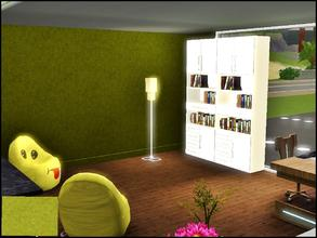 Sims 3 — Green Swirls by capshunica2 — A new pattern for you. Enjoy!